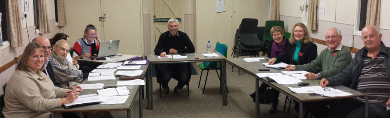 Parish Council in session November 2015